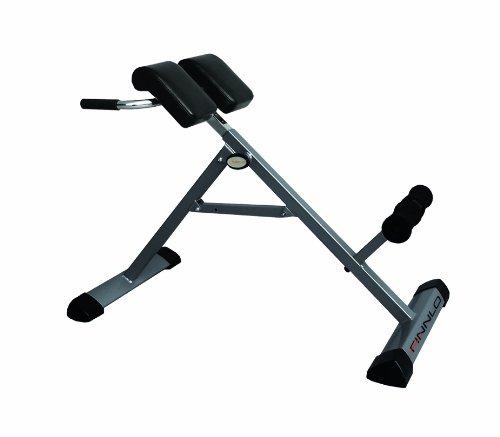 HAMMER Finnlo Bauch-/Rückentrainer Tricon, Hyperextensionsbank für einen gesunden Rücken, Dipstangen für straffe Arme, Training der schrägen Bauchmuskulatur, Stärkung des Rückenstreckers