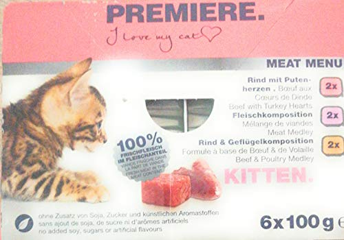 Premiere Meat Menu Kitten