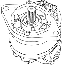 D48950 One New Hydraulic Pump for Case Backhoe 480B 480C 580B 580C 580F D53690