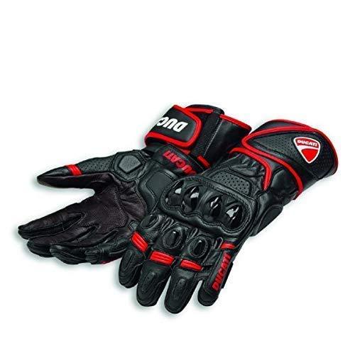 Ducati Speed Evo C1 Handschuhe aus Leder schwarz/rot Größe L