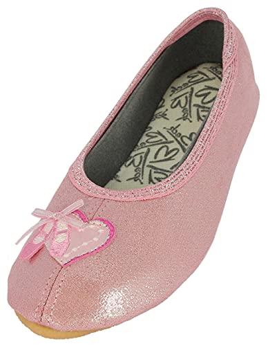 Beck Mädchen Ballett Gymnastikschuhe, Pink (Rosa 03), 33 EU