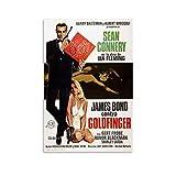 Sean Connery James Bond 007 Goldfinger Filmposter 2 Poster