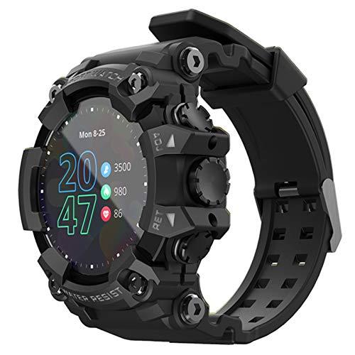 YYZ Ataque Nuevo Ataque Pantalla Táctil Completa Fitness Tracker Smart Reloj Monitor De Frecuencia Cardíaca Presión Arterial A Prueba De Agua Inteligente,A