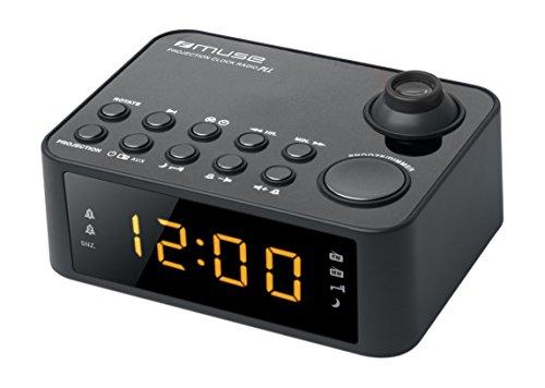 Muse M-178 P Radiowecker mit Uhrzeitprojektion