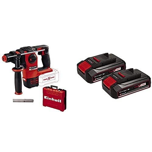 Einhell HEROCCO - Solo Martello tassellatore a batteria Power X-Change + Sistema Batterie Power X-Change
