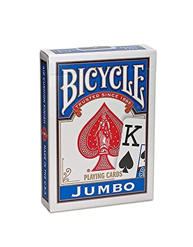 Bicycle - Baraja Poker Jumbo (Naipes Heraclio Fournier 10043