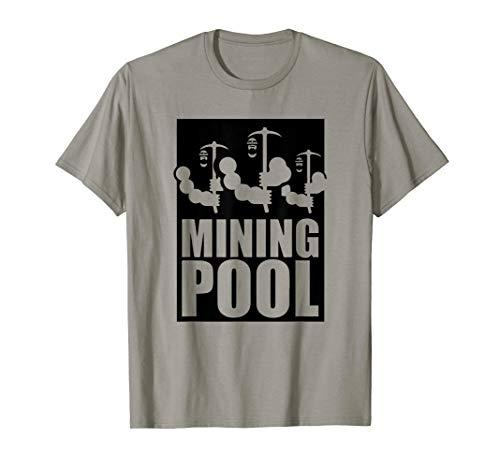 BTC Mining Pool T-Shirt | Bitcoin Mining | Blockchain T-Shirt