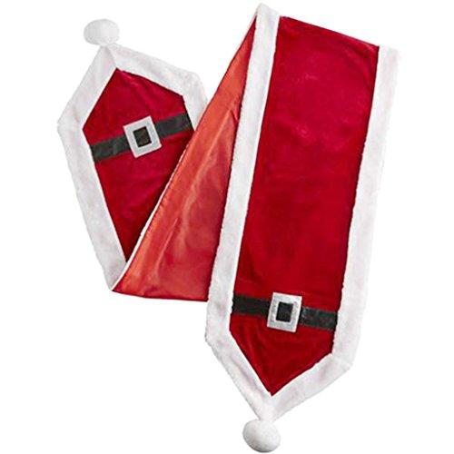 Jul bordslöpare definiera platser byrå scarf dino tema fest dekor röd