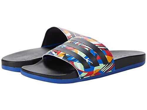 adidas Damen KZO09 Wasserschuh, Schwarz/Schwarz/Königsblau, 36 EU