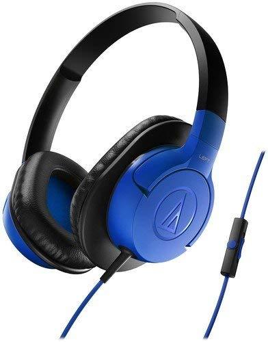(Renewed) Audio Technica ATH-AX1ISBK Over-Ear Headphones (Black)