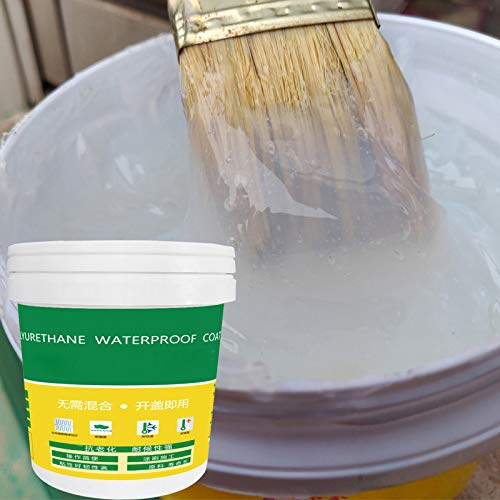Ablita Innovador Sellador Mighty Paste Poliuretano Revestimiento Impermeable para Casa Baño Techo Base Agua Barniz Extra Fuerte