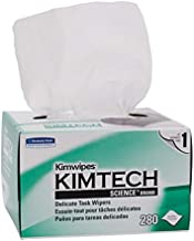 Kimberly-Clark Kimtech Science Kimwipes Delicate Task Disposable Wiper, 8-25/64
