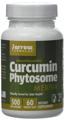 Jarrow Formulas Curcumin Phytosome (Meriva), 500mg, 60 Capsules