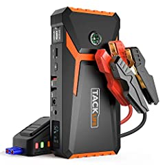 Powerful & Compact: With 800A peak current, TACKLIFE T8 jump starter can start 12-volt dead batteries in seconds, for up to 6.5L Gasoline and 5.5L Diesel engines - around 30 times in a single full-charge (in 4.5hours). It's also a 18000mAh compact po...