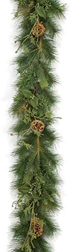 9 Foot Mix Garland Discount mail order Sugar Pine Cheap mail order specialty store