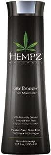 Hempz 20x Bronzer Tan Maximizer, 10.1 Fluid Ounce