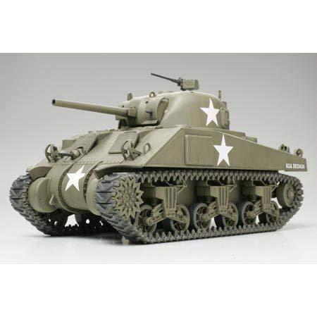 TAMIYA America, Inc 1/48 M4 Sherman Tank-Early, TAM32505
