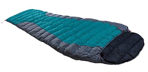 Warmpeace Viking Blanket 180 cm leichter Schlafsack Daunenschlafsack 3 Jahreszeiten (Rechts)
