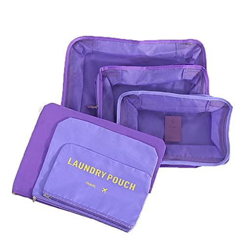 AIWKR Bolsa organizadora de equipaje de viaje, para organización de maleta de viaje, para almacenamiento en casa de viaje