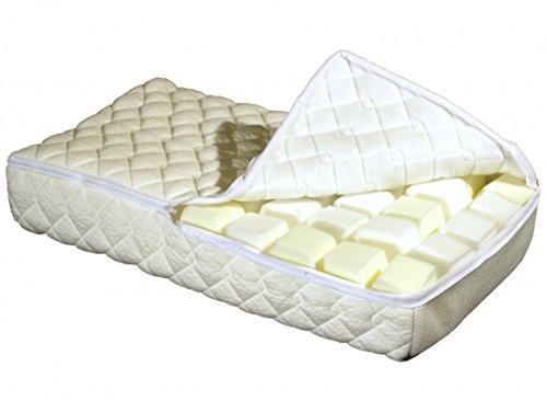 Garanta Nackenstützkissen 40 x 80 cm - Höhe 10 cm - Kissen Flexinet AIR Visco - Hülle 60 °C waschbar