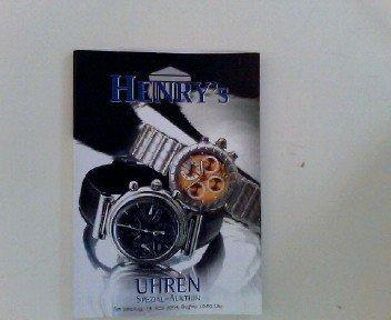 Uhren Spezial-Auktion, Samstag, 19. Juni 2004