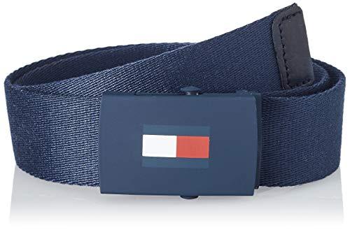 Tommy Hilfiger Kids Plaque Belt Set di Accessori Invernali, Blu, S-M (0-24) Bambino