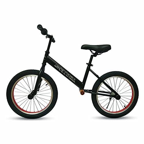YXX Bicicleta Sin Pedales Bici Ajustable Asiento/Barra De Mano Bicicleta De Equilibrio Ruedas De 18 Pulgadas, Bicicleta Liviana Sin Pedales para Niños Grandes, Niñas, Jóvenes, para 6 8 10 12 Años