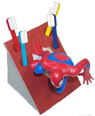marvel toothbrush holders Spiderman Toothbrush & Holder