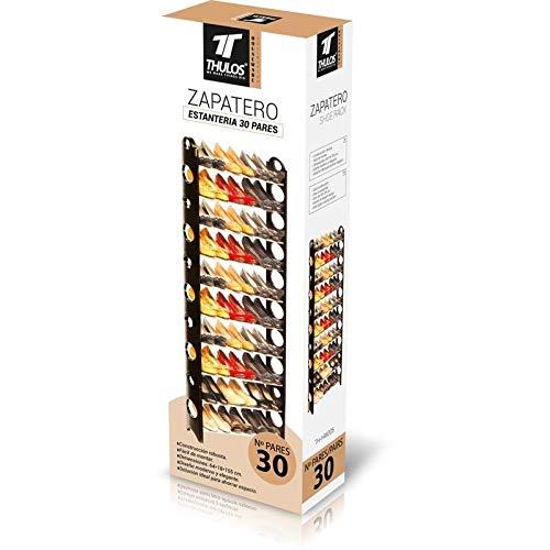 Thulos Zapatero estantería con Capacidad de hasta 30 Pares de Zapatos. Una solución Ideal para Ahorrar Espacio TH-HW005.