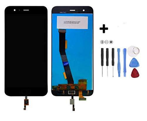 Theoutlettablet - Pantalla LCD + Táctil para Xiaomi Mi6 Incluye Huella Dactilar Color Negro + Herramientas