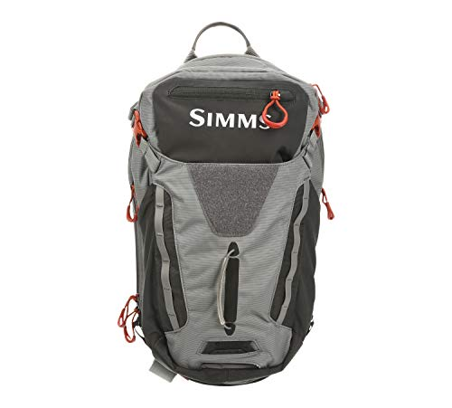 Simms Freestone Ambidextrous Tactical Fishing Sling Pack, Water Resistant Bag, Gray