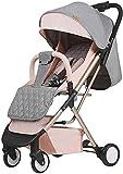 AYDQC Kinderwagen Neugeborenen Wagen Infant Kinderwagen Leichte Baby Pram Kinderwagen Buggy...