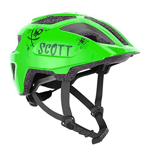 Scott Spunto Kinder Fahrrad Helm Gr.46-52cm Fluo grÃŒn 2021