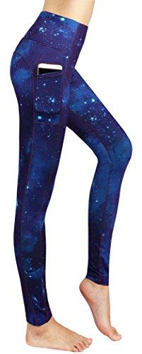 Neonysweets Womens Printed Tummy Control Yoga Workout Leggings Pockets (XX-Large, Printed#95)