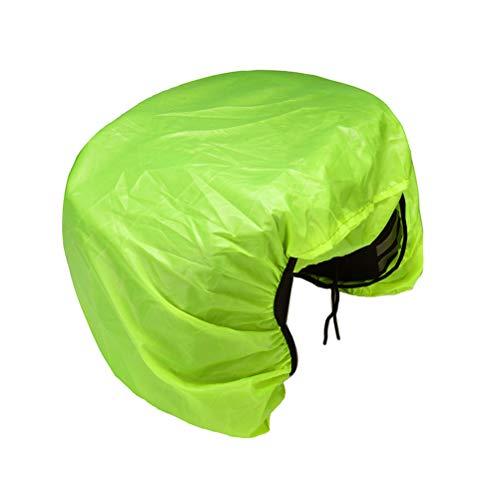BESPORTBLE Fahrradtasche Regenschutz Mountainbike Gepäckablage Gepäcktasche Regenschutz (grün)