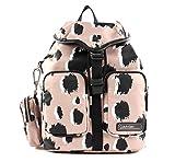 Calvin Klein Damen Primary Backpack Pr Umhängetasche, Pink (Pop Leo Nude), 1x1x1 cm