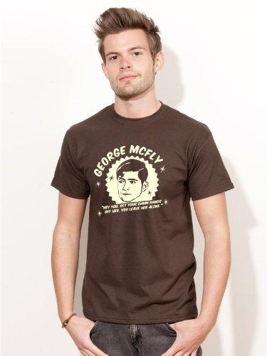 BIGTIME.de T-Shirt Zurück in die Zukunft George Mc Fly Kult Film Shirt E91 - Gr. XXL