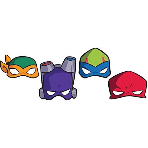 amscan 3600000 Masken Ninja Turtles, schildkröte, kindergröße