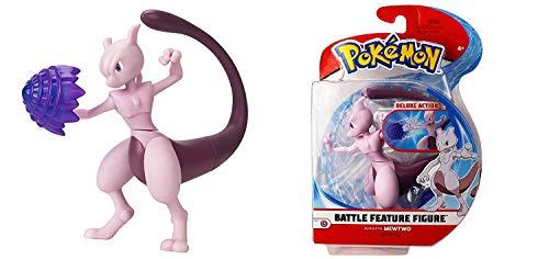 Lively Moments Pokémon Battle Pack Actionfigur & Funktion Spielfigur / Sammelfigur Movie Erweiterung Mewtu / Mewtwo