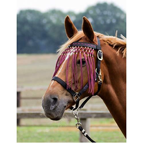 BUSSE Fliegenkordelband EXKLUSIV, Pony, bordeaux