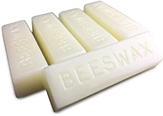 White Beeswax Bars - 5 Bars - 5 Ounces - Cosmetic Grade - EarthWise Aromatics
