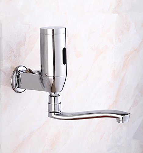 AWXJX Copper Thicker Sensing Wall Mounted Automatic Sink Vessel Faucetmixer Taps