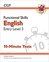 New Functional Skills English Entry Level 3 - 10 Minute Tests (for 2020 & beyond)