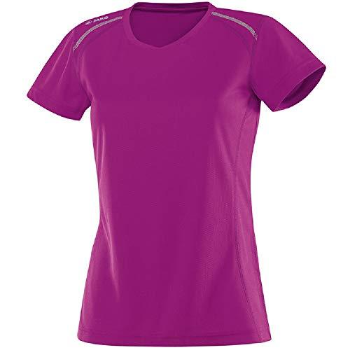 JAKO Damen T-Shirt Funktionsshirt Laufshirt Run, Farben:Fuchsia;Größe:34-36