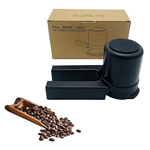 Handmatige Koffiemolen Draagbare Mini Koffiezetapparaat Met Filter Thuisgebruik DIY Koffiezetapparaat Crusher Keramische Braammolen