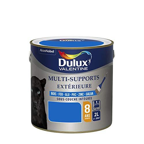 Dulux Valentine Peinture Multi-Supports Extérieure - Satin Bleu Breton 2L