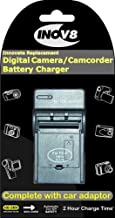 Inov8 Canon NB-5L Travel Battery Charger with 12v in-car adapter