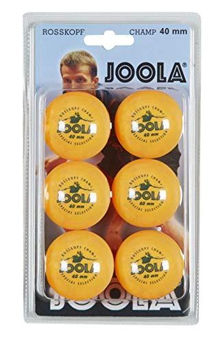 JOOLA 44350, Palline d'Allenamento Unisex – Adulto, Arancione, Taglia Unica