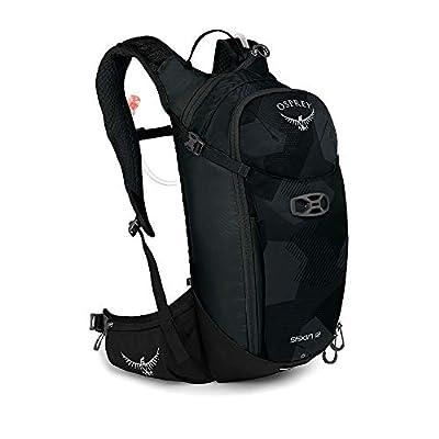 Osprey Siskin 12 Men's Bike Hydration Backpack, Obsidian Black