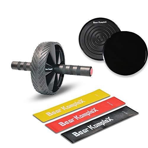 Bear KompleX Home Workout Conditioning Bundle, Set of 3 Resistance Loop Bands,...